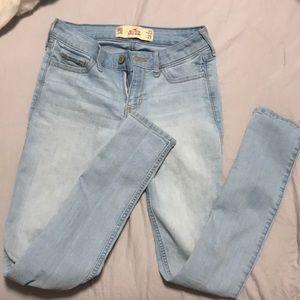 Hollister Light Wash Super Skinny Jeans